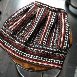 Women's Xhilaration Bohemian Printed Skirt-Size XS